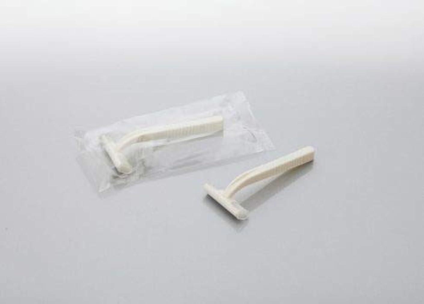 ターゲット堤防フォローカミソリ アメニティシーガル2 固定式2枚刃 1800本 透明OP袋入 daito