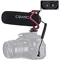 COMICA CVM-V30 LITE ビデオ録音マイク カメラ/電話マイク用 キヤノン ニコン ソニー デジタル一眼レフカメラ DV カムコーダー用 ほとんどのスマートフォンに対応