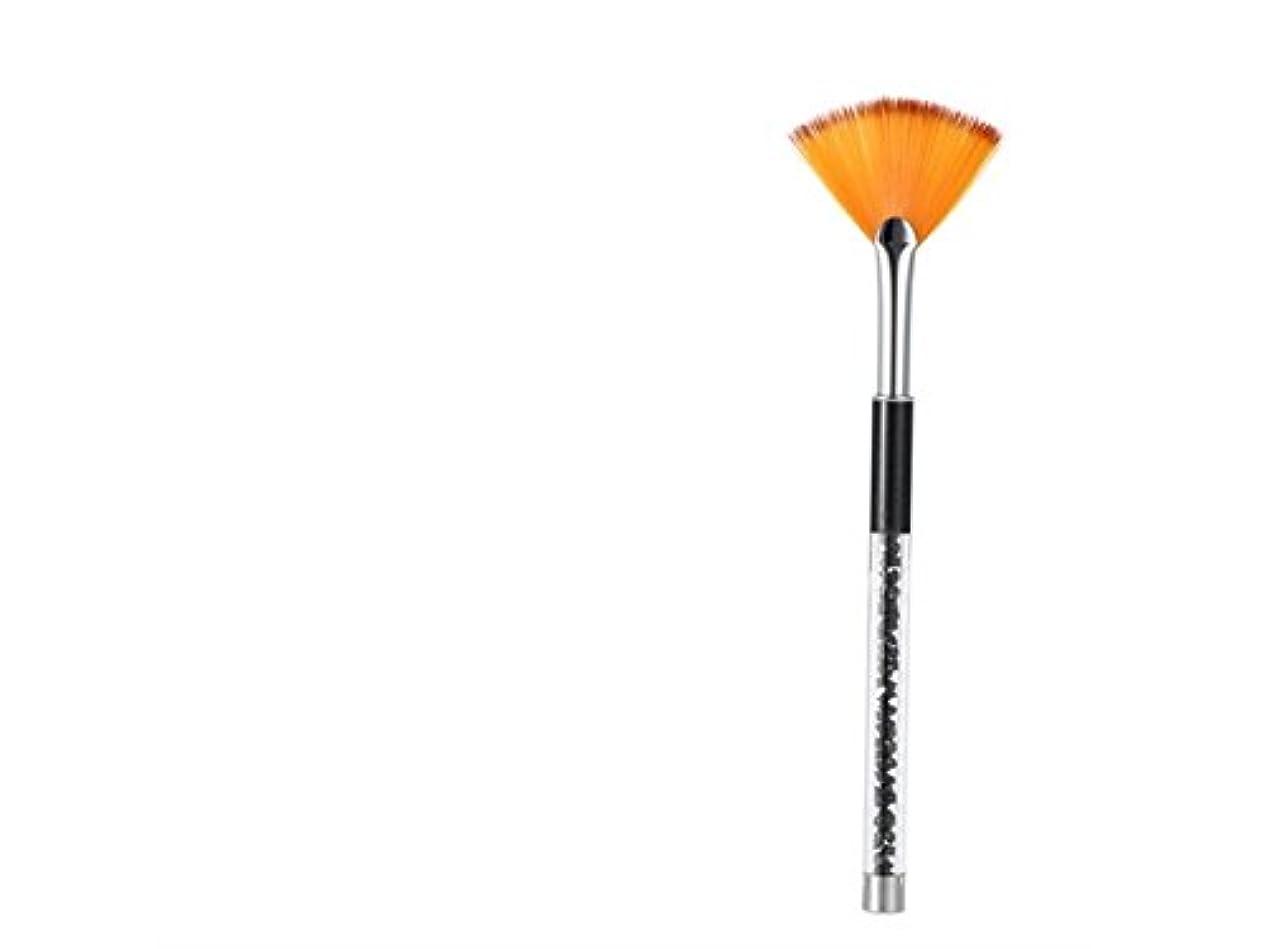 センチメンタルマネージャーベジタリアンOsize ネイルペンツールグラデーション塗装フラットファンペンシェイクヘッドチョークロッド(ブラック)