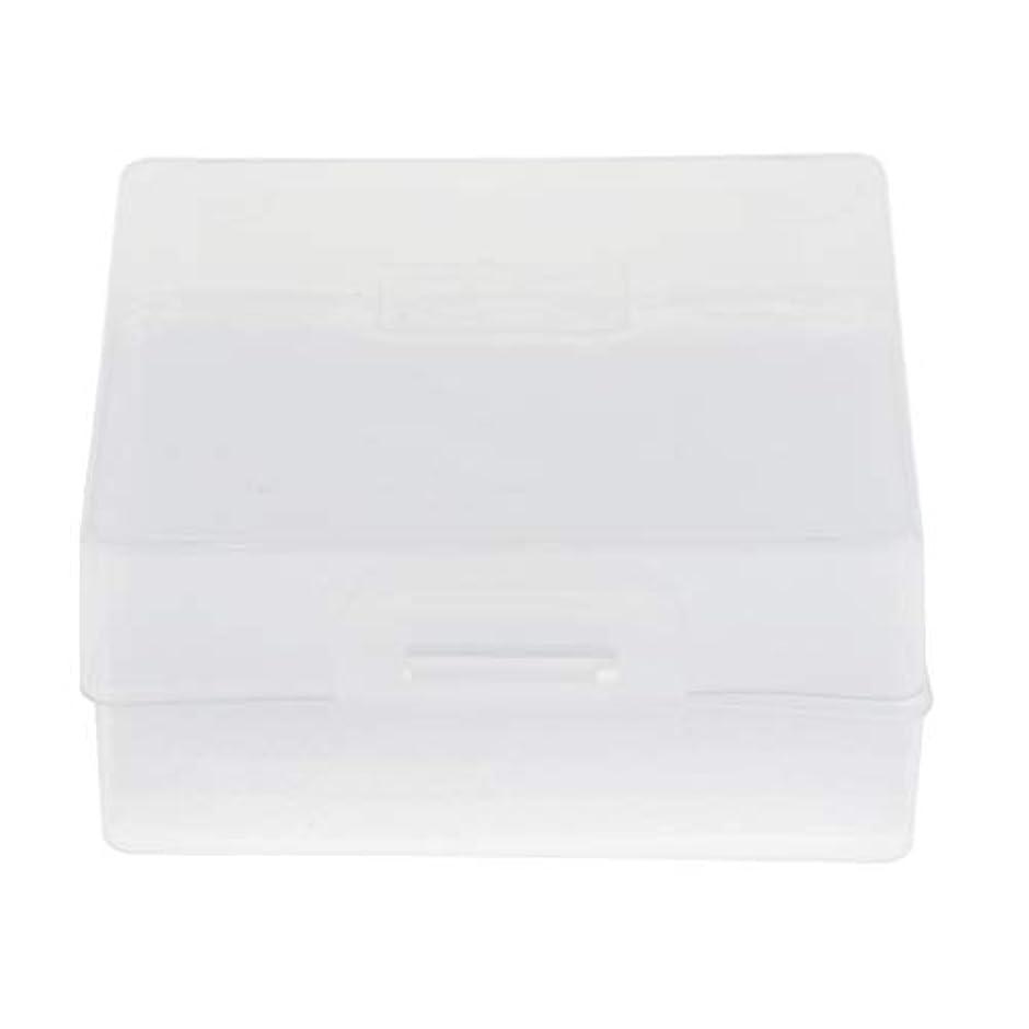 戻る追放サスペンションToygogo ネイルアート ネイルドリルビット オーガナイザー ディスプレイ 収納ボックス プラスチック製