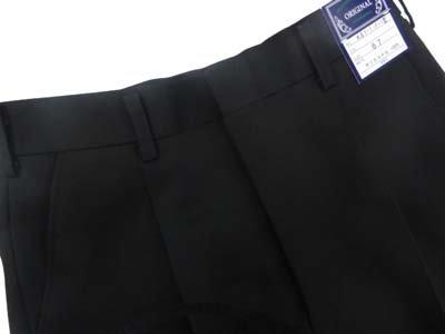 全国標準型学生ズボン ワンタック (ポリ100%) W76