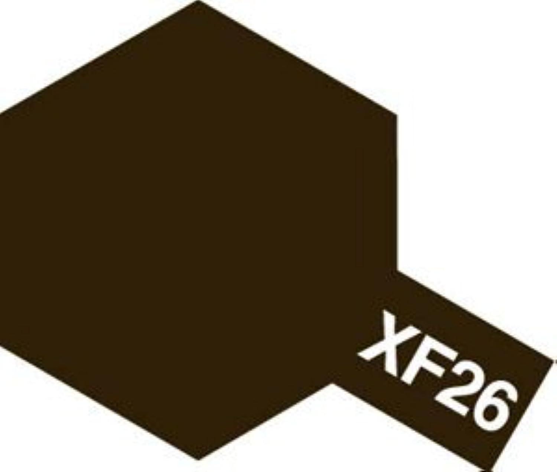 タミヤカラー アクリル塗料ミニ XF26 ディープグリーン (つや消し FLAT)