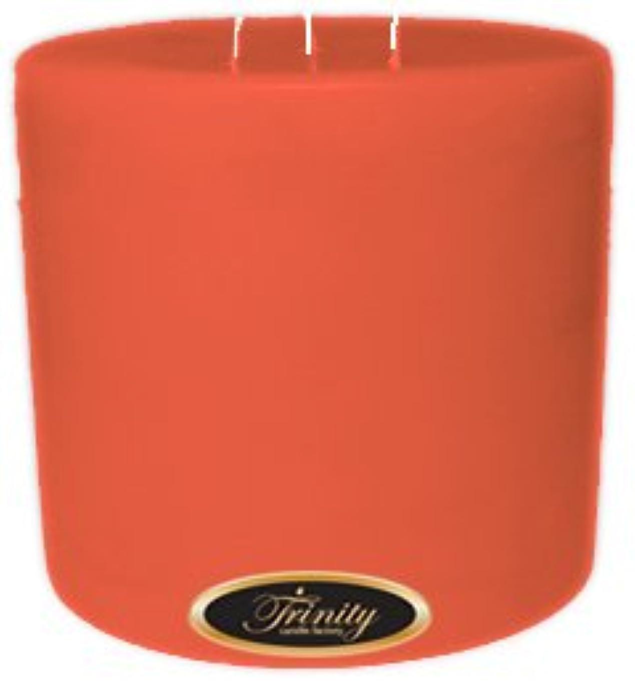 寄付するアスリート克服するTrinity Candle工場 – ジョージアピーチ – Pillar Candle – 6 x 6