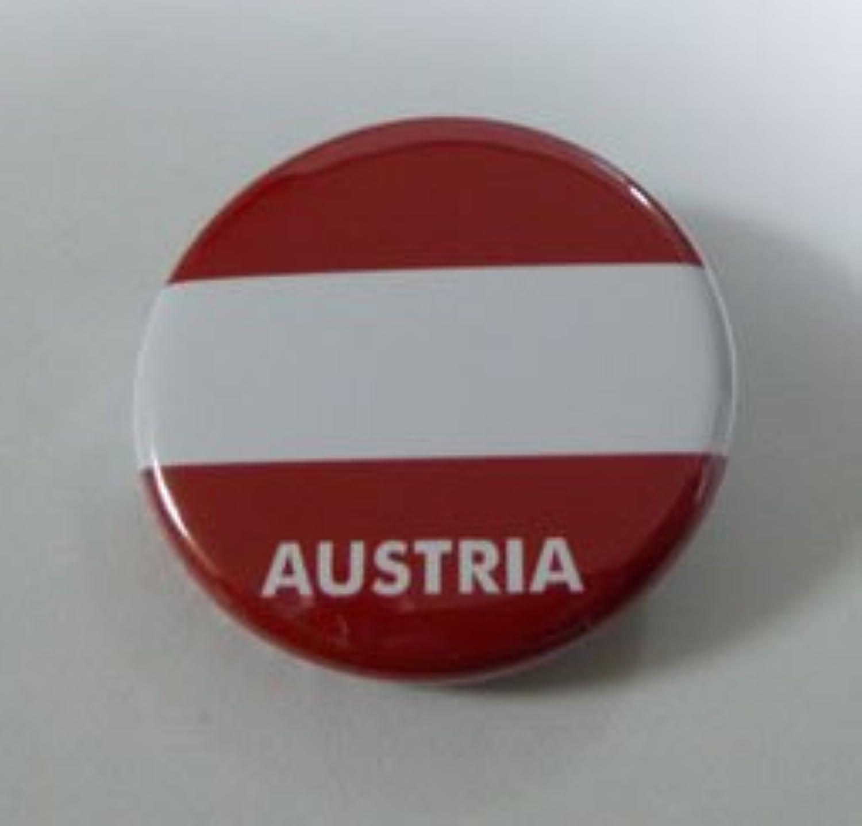 NATIONALFLAG 国旗カンバッジ オーストリア
