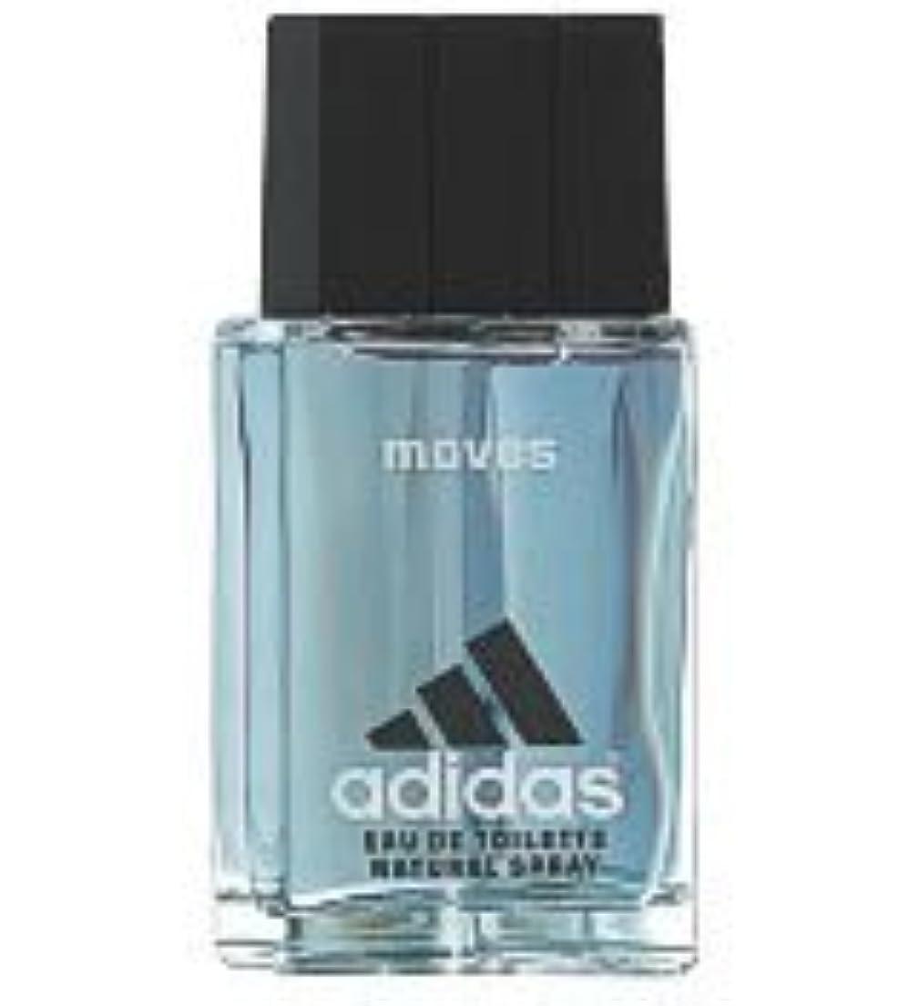 匿名いちゃつく役に立たないAdidas Moves (アディダスムーブス) 1.7 oz (50ml) Aftershave Splash by Adidas for Men
