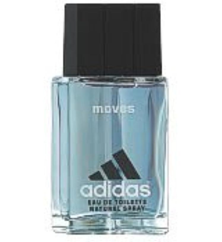 成長する悪魔汚れるAdidas Moves (アディダスムーブス) 1.7 oz (50ml) Aftershave Splash by Adidas for Men