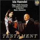 Violin Concerto. Bach. Chaconne by ELGAR & BACH (1998-09-01)