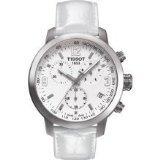 Tissot PRC 200クロノグラフホワイトダイヤルスチール時計t0554171601700