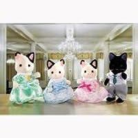 Calico Critters Tuxedo Cat Family [並行輸入品]