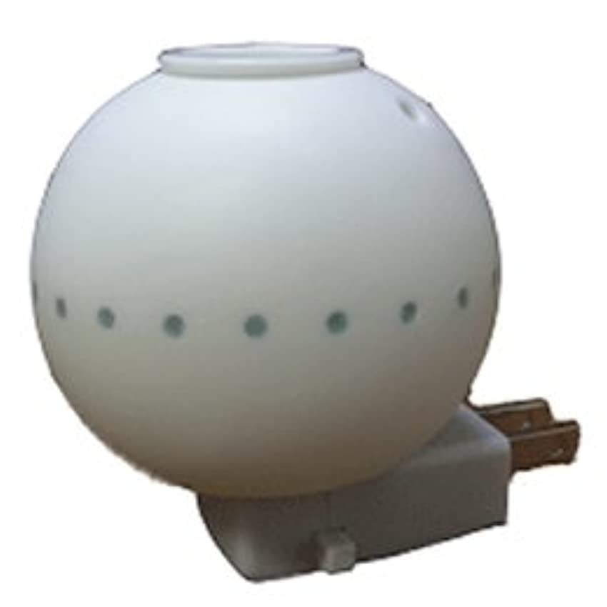 アルプスシプリーれんがアロマランプ ミニラウンドホタル ブルー (ソケット型)