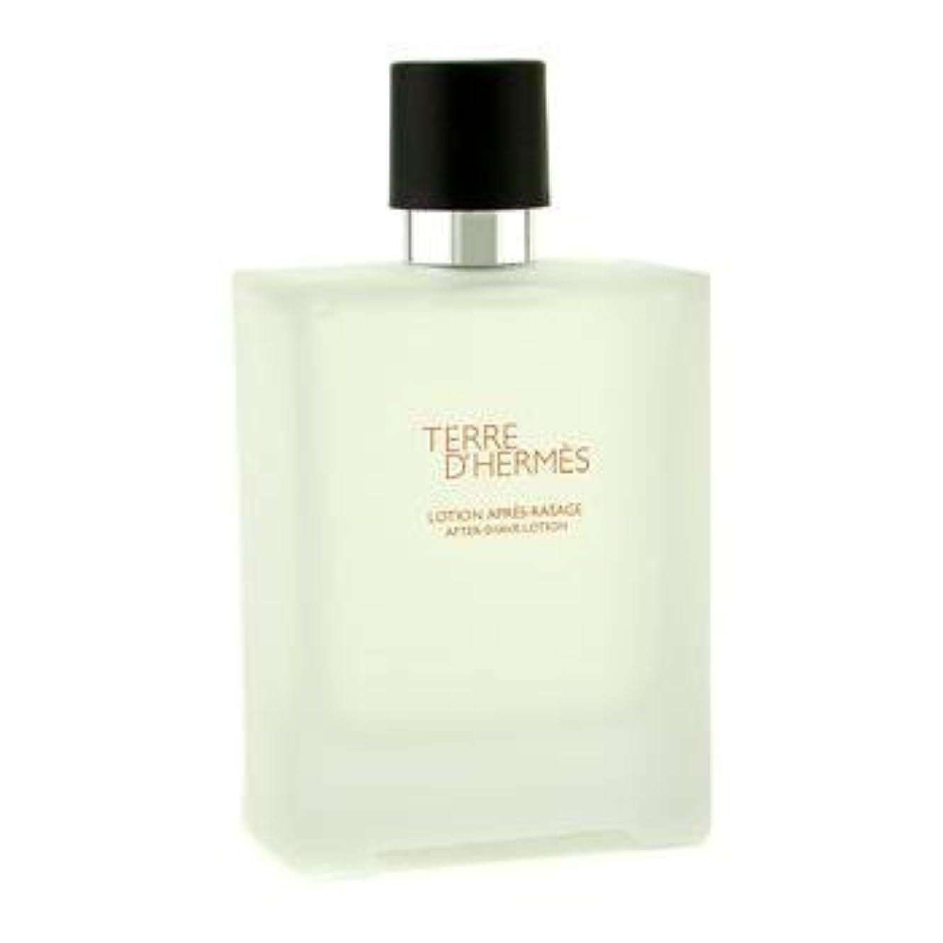 ベルベット拳バックアップHermes Terre D'Hermes After Shave Lotion - 100ml/3.3oz by Hermes [並行輸入品]
