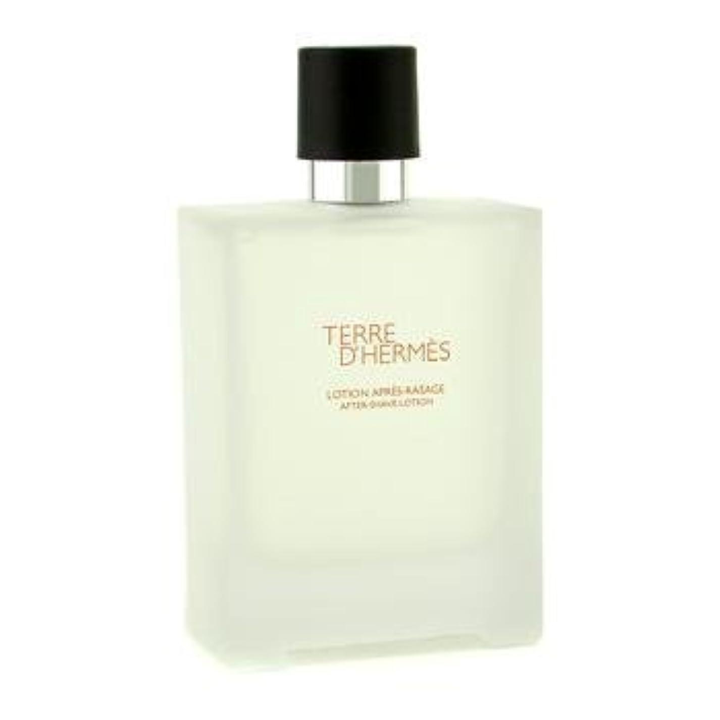 バリケード雨のスープHermes Terre D'Hermes After Shave Lotion - 100ml/3.3oz by Hermes [並行輸入品]
