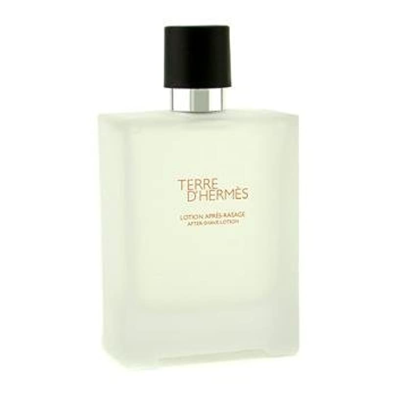 シンプトン雄弁な揮発性Hermes Terre D'Hermes After Shave Lotion - 100ml/3.3oz by Hermes [並行輸入品]