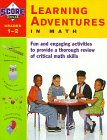 Kaplan Learning Adventures In Math Grades 1-2