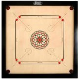 Surco Ellora Carrom Board with Coins and Striker, 4mm Full Size by Surco [並行輸入品]