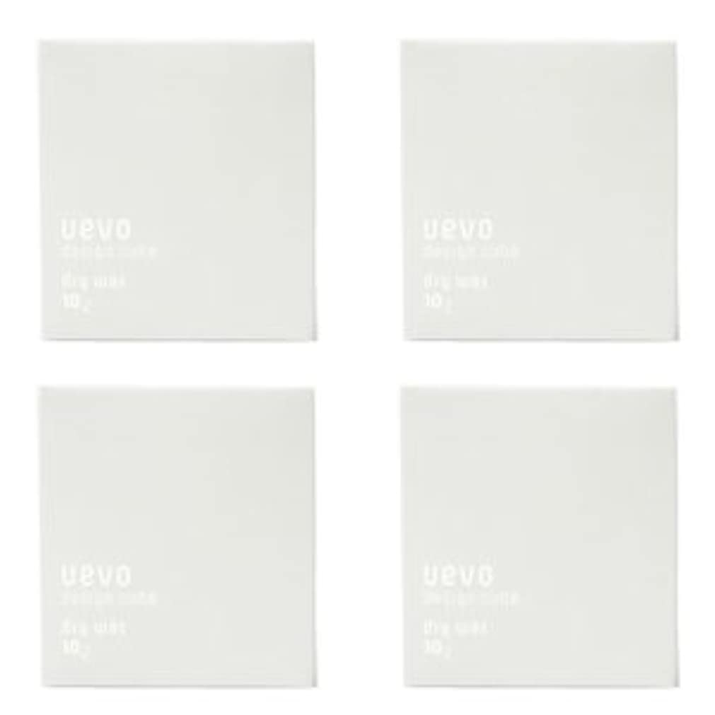 扱う政治家の集める【X4個セット】 デミ ウェーボ デザインキューブ ドライワックス 80g dry wax