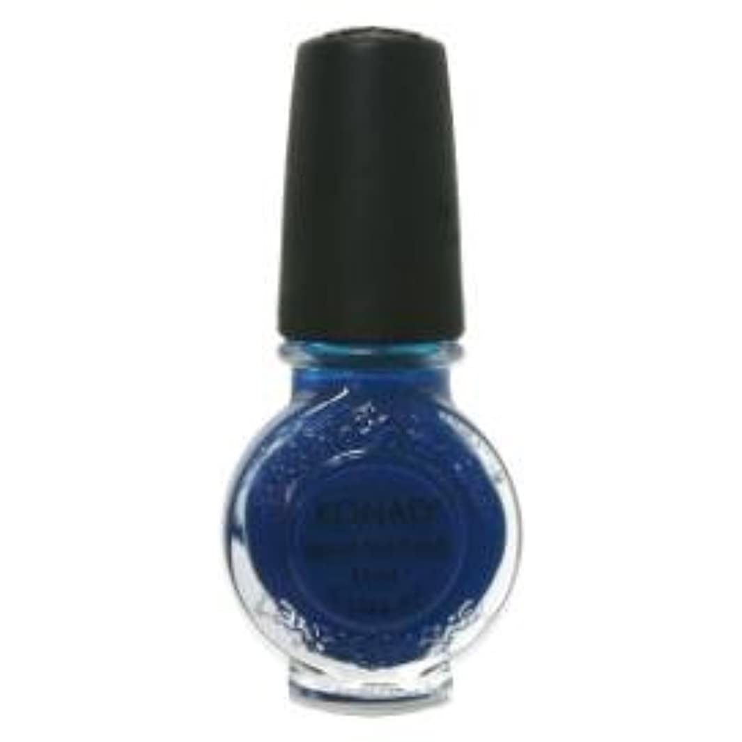 目を覚ますきらめきグラスお急ぎ KONAD コナド スタンピングネイルアート 専用ポリッシュ s22 ブルー(11ml)