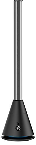 スリムタワーファン (黒, 空気清浄機能有り)