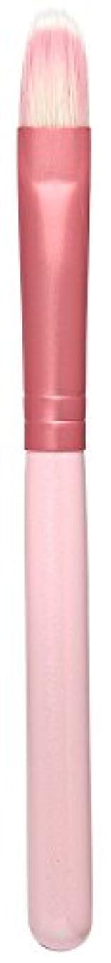 キウイ損失アグネスグレイ熊野筆 Purin 3D型アイシャドゥブラシL(ピンク) KOYUDO Collection