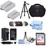 lp-e8、lpe8バッテリとバッテリ充電器キットfor Canon EOS Rebel t2i, t3i、t4i、t5i、EOS 550d、EOS 600d, EOS 650d, EOS 700dデジタル一眼レフデジタルカメラ