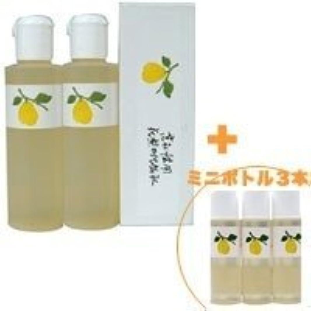 パック安定した愛されし者花梨の化粧水 200ml 2本&ミニボトル 3本 美容液 栄養クリームのいらないお肌へ 保湿と乾燥対策に