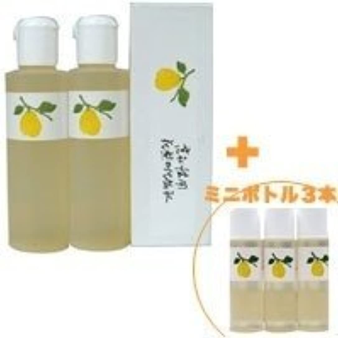 祝福する架空の中断花梨の化粧水 200ml 2本&ミニボトル 3本 美容液 栄養クリームのいらないお肌へ 保湿と乾燥対策に