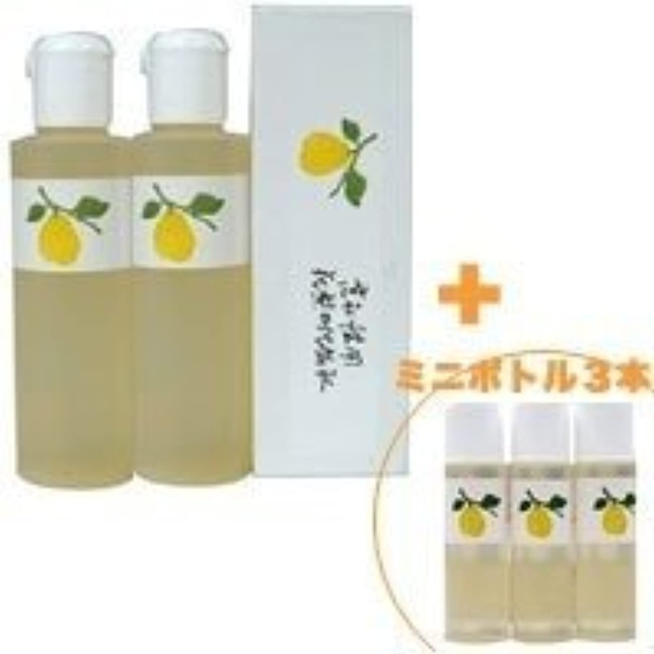 曲線立ち寄る近傍花梨の化粧水 200ml 2本&ミニボトル 3本 美容液 栄養クリームのいらないお肌へ 保湿と乾燥対策に