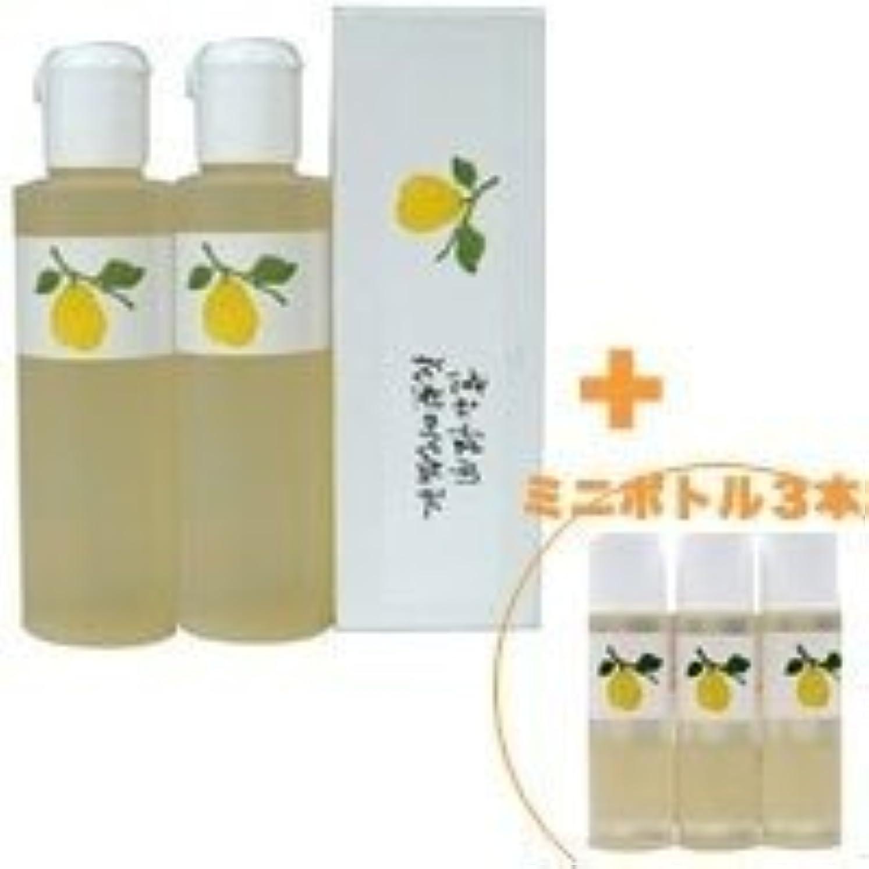 質素な原点先見の明花梨の化粧水 200ml 2本&ミニボトル 3本 美容液 栄養クリームのいらないお肌へ 保湿と乾燥対策に