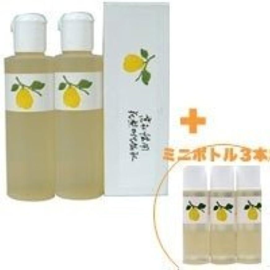 アンカースローガン商標花梨の化粧水 200ml 2本&ミニボトル 3本 美容液 栄養クリームのいらないお肌へ 保湿と乾燥対策に