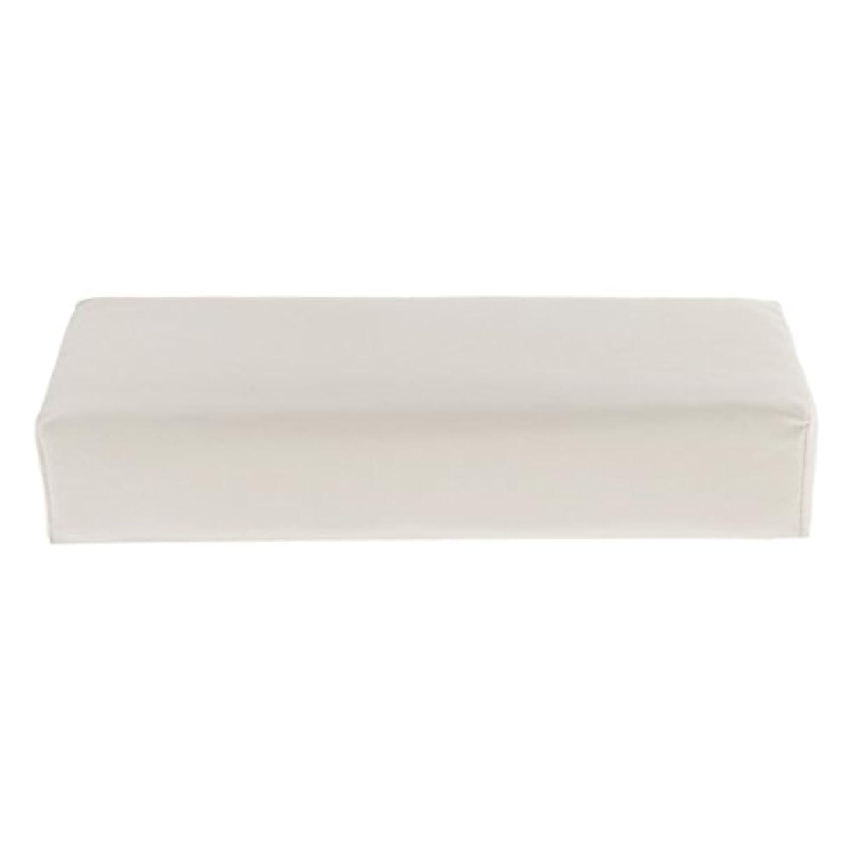 練習薬剤師ウィンクKesoto ハンドピロー ソフト ハンドホルダー クッション ピロー マット ネイル アームタオルレスト マニキュアツール 多色選べる - 白