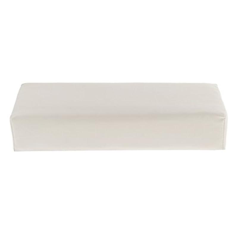疫病便宜不一致Kesoto ハンドピロー ソフト ハンドホルダー クッション ピロー マット ネイル アームタオルレスト マニキュアツール 多色選べる - 白