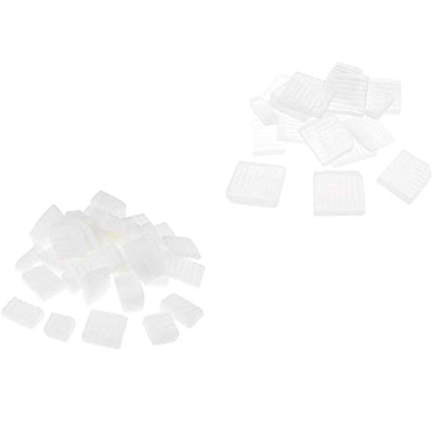 凍った発行勇気のあるD DOLITY 固形せっけん 2KG ホワイトクリア DIY工芸 手作り バス用品 石鹸製造 創造力 2種 混合