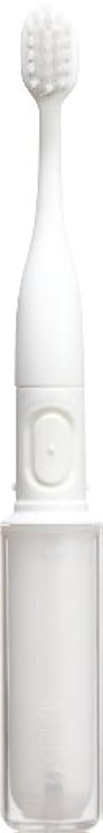 不機嫌そうなビームスチュワードラドンナ 携帯音波振動歯ブラシ mix (ミックス) MIX-ET ホワイト