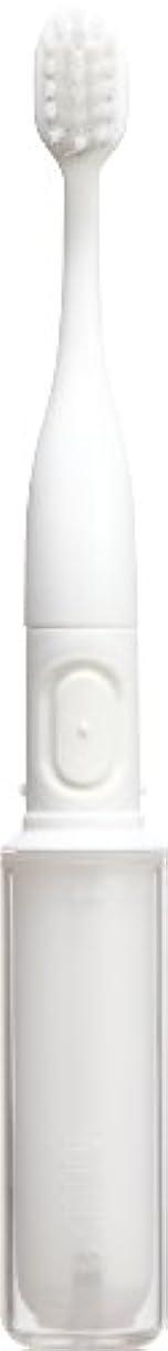 まともな放散する本物のラドンナ 携帯音波振動歯ブラシ mix (ミックス) MIX-ET ホワイト
