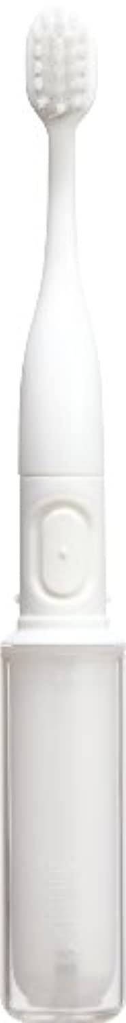 宿るアラーム支配するラドンナ 携帯音波振動歯ブラシ mix (ミックス) MIX-ET ホワイト