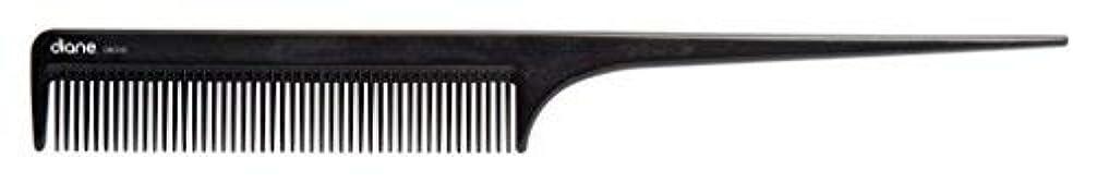 晴れ寄付するうまれたDiane Ionic DBC043 Anti-Static Rat Tail Comb, Black [並行輸入品]