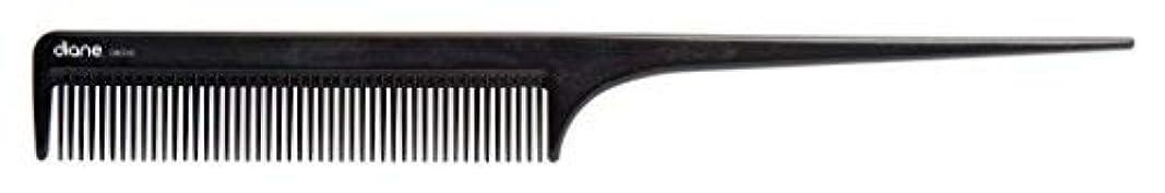 寄生虫矛盾骨折Diane Ionic DBC043 Anti-Static Rat Tail Comb, Black [並行輸入品]
