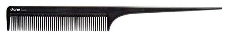 評価緊張する現像Diane Ionic DBC043 Anti-Static Rat Tail Comb, Black [並行輸入品]