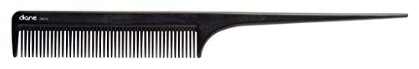 パパ睡眠満足Diane Ionic DBC043 Anti-Static Rat Tail Comb, Black [並行輸入品]