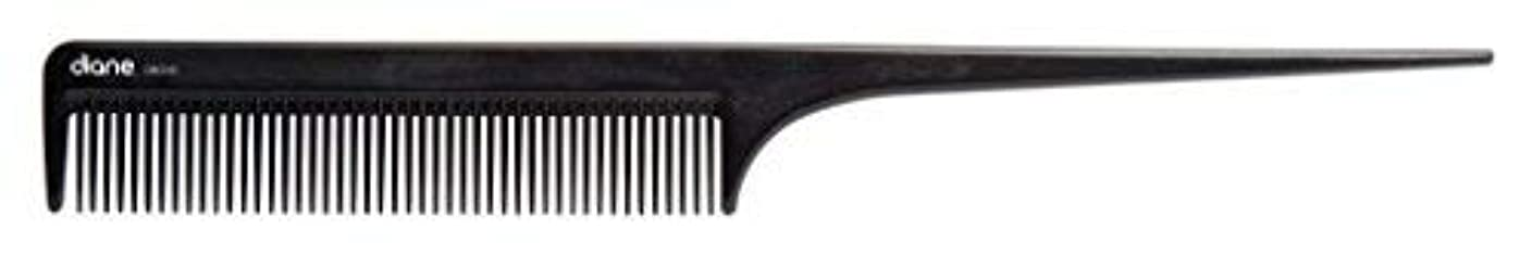 野菜接地ガラガラDiane Ionic DBC043 Anti-Static Rat Tail Comb, Black [並行輸入品]