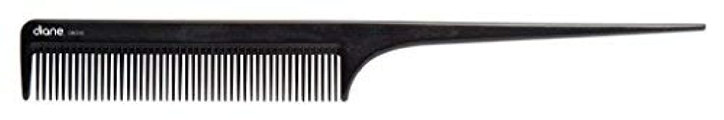 受粉者遠征スカープDiane Ionic DBC043 Anti-Static Rat Tail Comb, Black [並行輸入品]