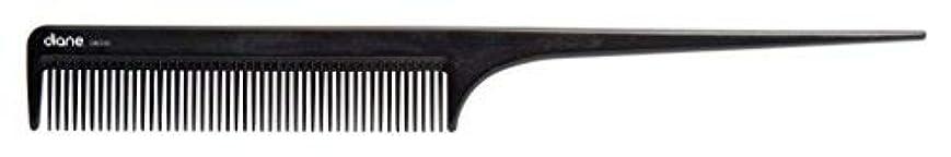 何十人も支給キノコDiane Ionic DBC043 Anti-Static Rat Tail Comb, Black [並行輸入品]