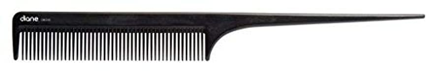 予言する報酬前提Diane Ionic DBC043 Anti-Static Rat Tail Comb, Black [並行輸入品]