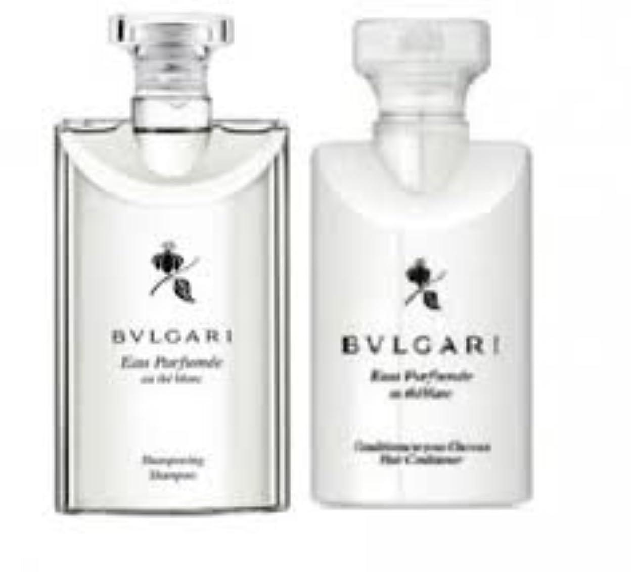 左スペシャリスト解説Bvlgari Eau Parfumee Au The Blanc (ブルガリ オー パフュ-メ オウ ブラン) 2.5 oz (75ml) シャンプー & ヘアーコンディショナー