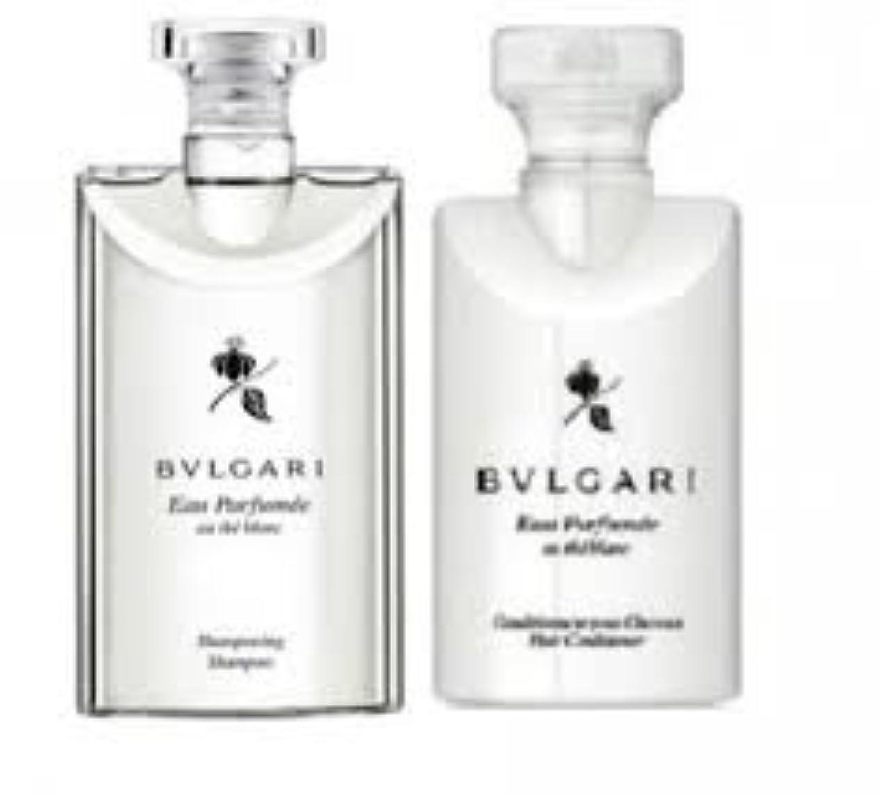 Bvlgari Eau Parfumee Au The Blanc (ブルガリ オー パフュ-メ オウ ブラン) 2.5 oz (75ml) シャンプー & ヘアーコンディショナー