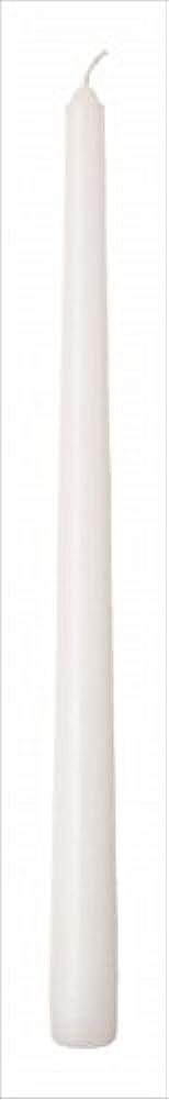 同盟復活する高揚したカメヤマキャンドル(kameyama candle) 12インチテーパー 「 ホワイト 」 12本入り