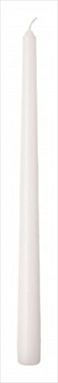 ノーブル排泄する肝カメヤマキャンドル(kameyama candle) 12インチテーパー 「 ホワイト 」 12本入り