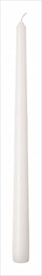 復活するつかいますかかわらずカメヤマキャンドル(kameyama candle) 12インチテーパー 「 ホワイト 」 12本入り