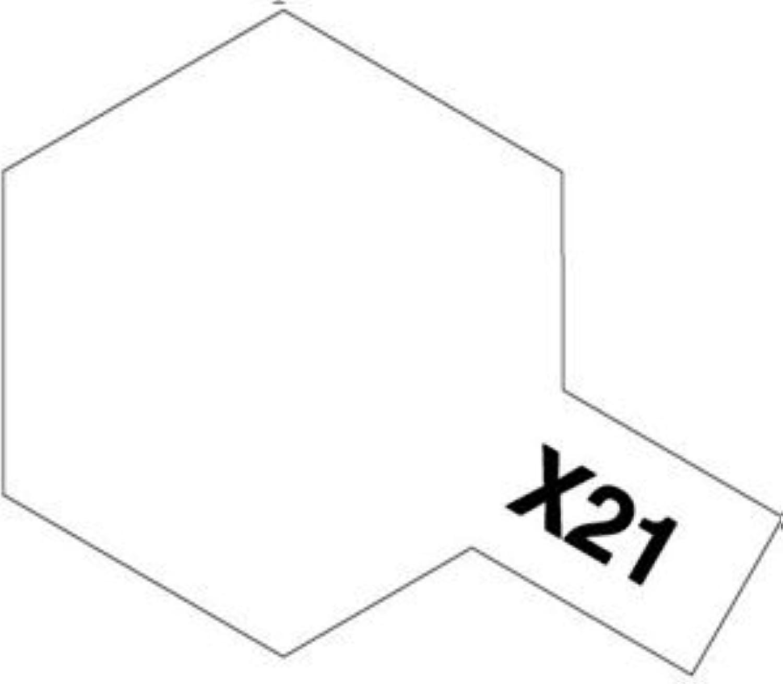 タミヤカラー アクリル塗料ミニ X21 フラットベース
