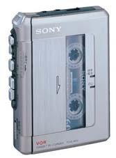 SONY スリムなテープレコーダー TCM-450